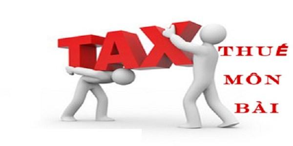 Lưu ý nộp thuế môn bài điện tử năm 2017